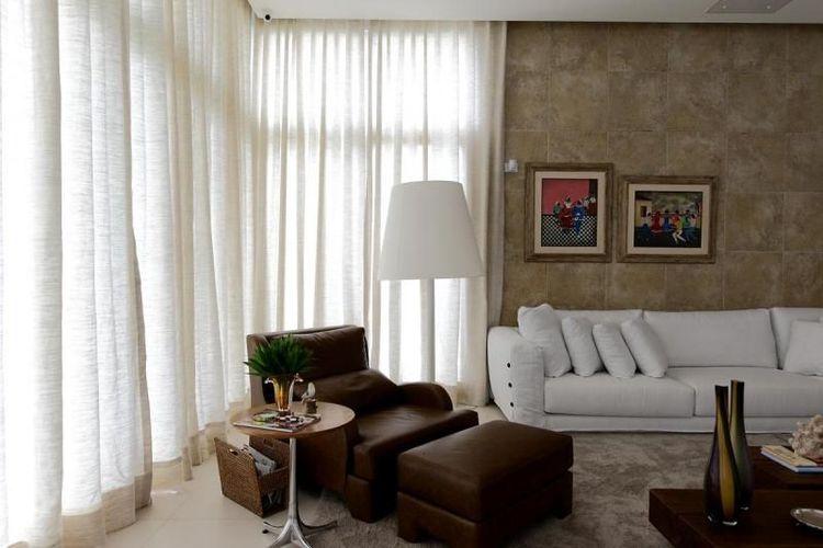 Sala De Estar Branca E Rosa ~ Sala de estar branca e marrom de Rodrigo Fonseca  66729 no Viva