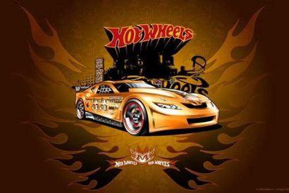 Painel Decorativo Festa Hot Wheels 04 240x135 Viva Decora