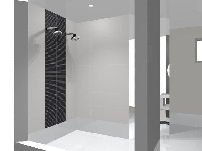 Banheiro com Pastilha Preta de Sheila Castro Sellani  47563 no Viva Decora -> Banheiro Com Pastilha Pret