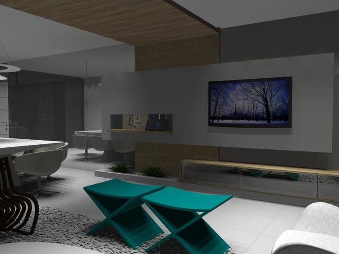 Sala De Estar Com Verde ~ Sala de estar com banco Verde de Jamilly Vasconcelos Goulart  54587