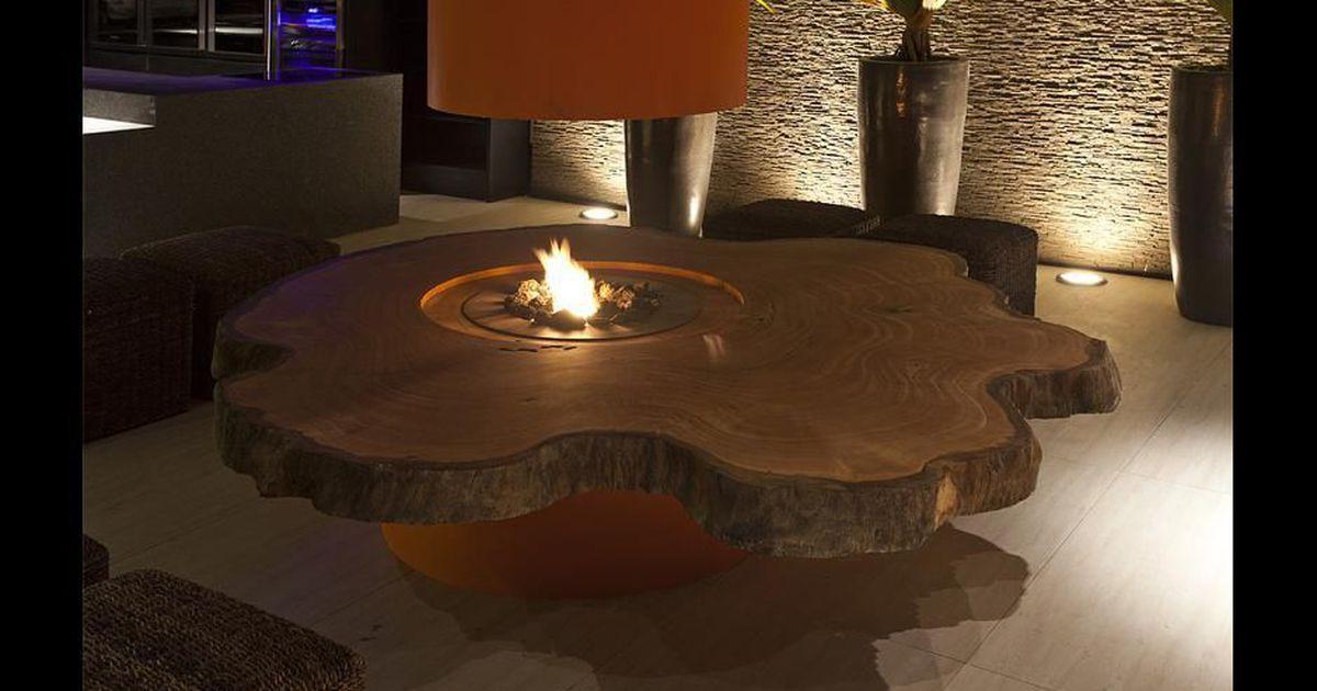 Mesa de tronco de rvore de ricardo rossi 74344 no viva for Mesa de tronco