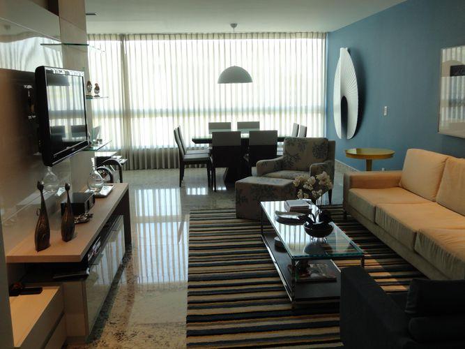 Sala De Estar Com Azul ~ Sala de estar com parede azul de Vanessa Di Francesco  37551 no Viva
