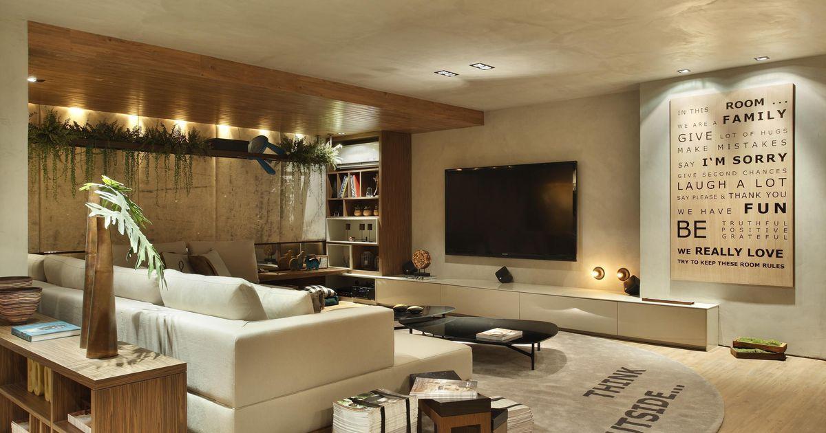 Sala de estar de studio eloy e freitas arquitetura 13435 for Sala de estar casa