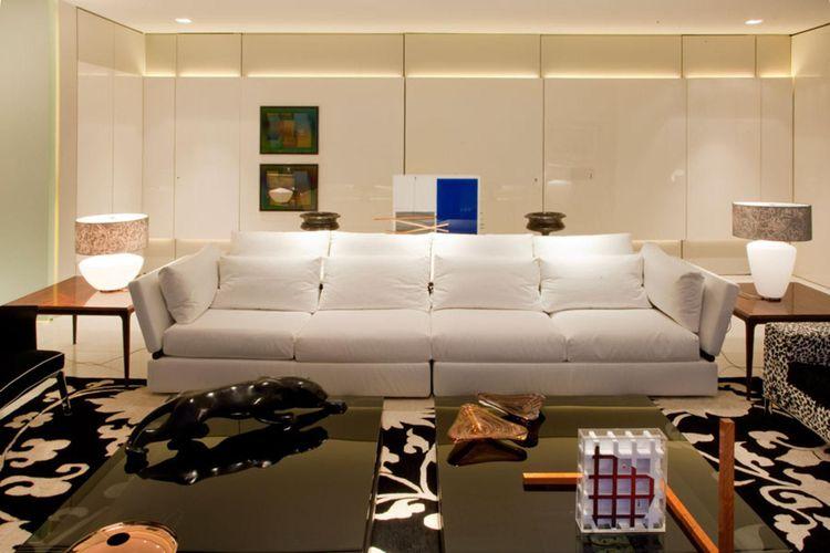 Sala De Estar Branca E Preto ~ Sala de estar preto e branco e itens decorativos de Toninho Noronha