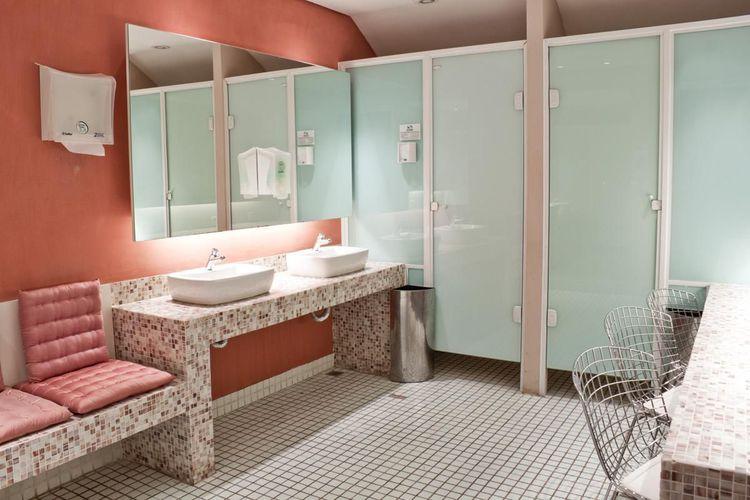 Banheiro Salmão de AUREUM Arquitetura & Interiores  49854 no Viva Decora -> Decoracao Banheiro Salmao