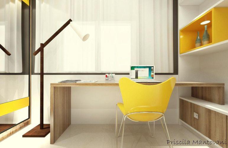 Sala De Estar Com Poltrona Amarela ~ Poltrona Amarela