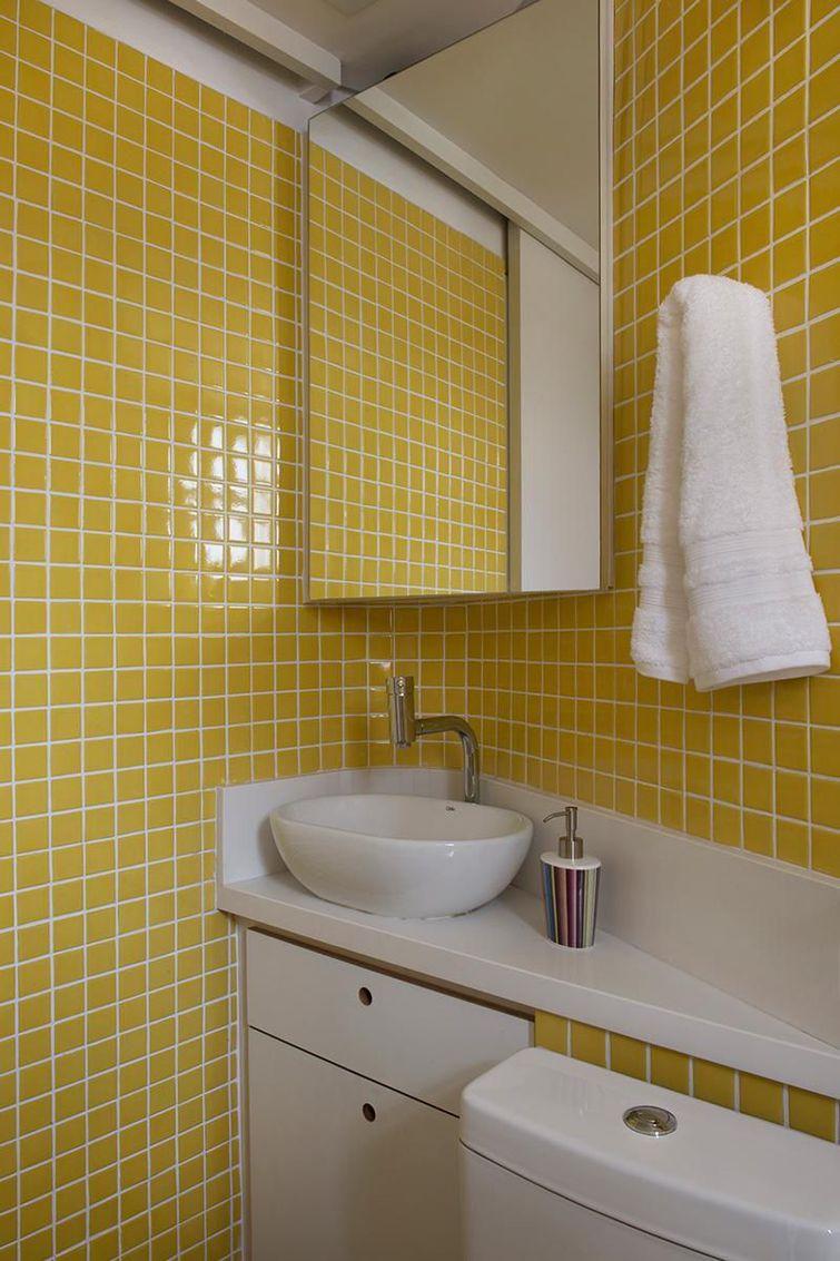 Jogo De Banheiro Marrom E Amarelo : Cores de tintas escolhendo a cor certa para o ambiente