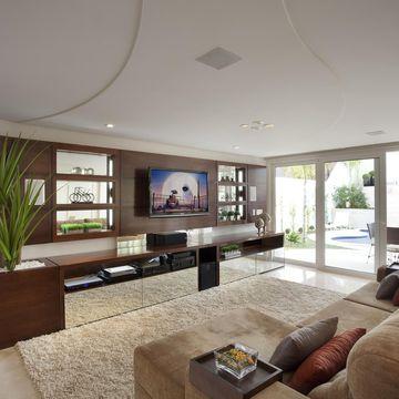 Sala de estar decora o fotos dicas e ideias for Fotos de sala de estar