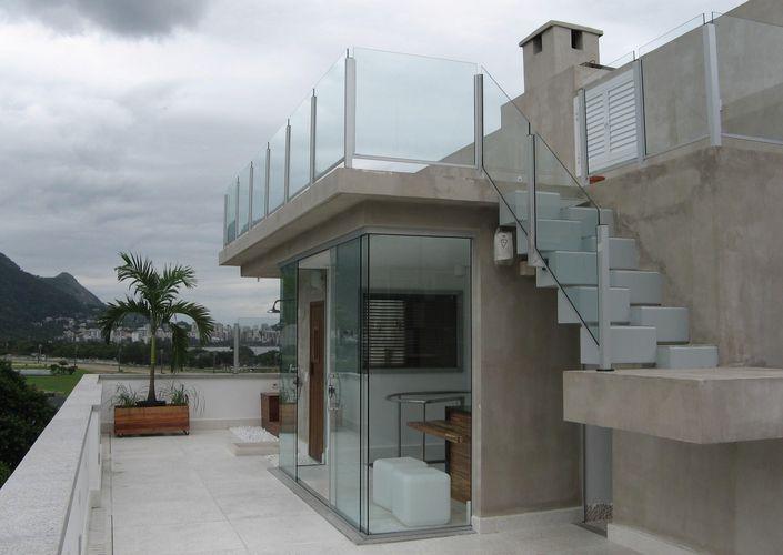 terraco jardim detalhe:Terraço com Escada de Bloco de André Martins – 18003 no Viva Decora