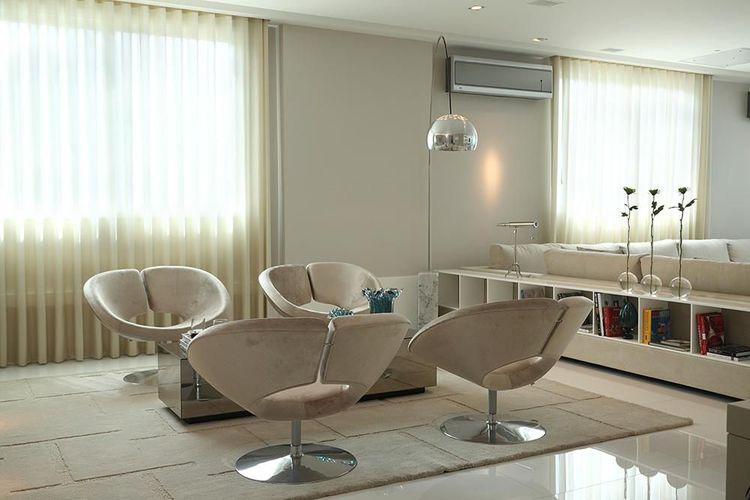 Sala de estar clean de Vivian Coser  21406 no Viva Decora ~ Sala De Estar Clean