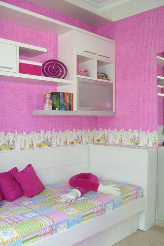 Quarto Rosa e Branco de Elizabeth Martins 20431 no Viva  ~ Quarto Rosa Com Branco