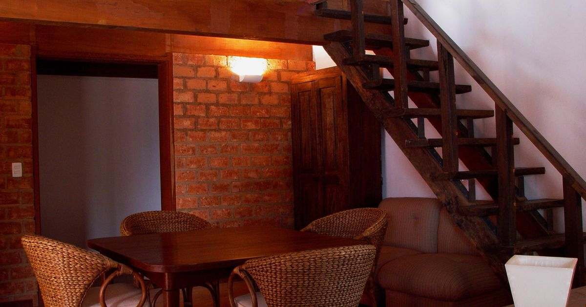 Sala de jantar estilo r stico de claudia prota for Sala de estar estilo rustico