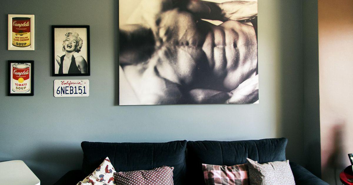 Quadro da sala de estar de casa aberta 18460 no viva decora for Sala de estar quadro