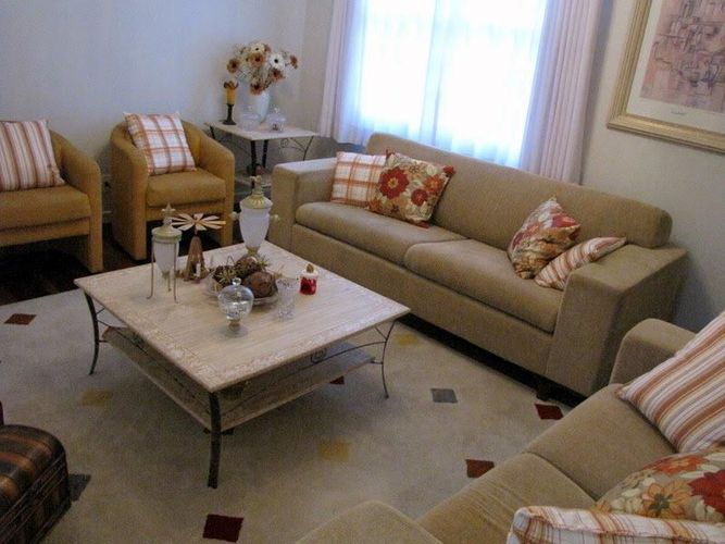 Sala De Estar Com Sofa Marrom ~ Sala de estar com sofá Marrom de Liz Lize  49409 no Viva Decora
