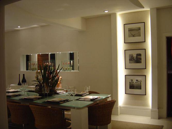 Quadro De Fotos Na Sala De Jantar ~ Quadros decorativo na sala de jantar de Hugo Braz Arquitetura e
