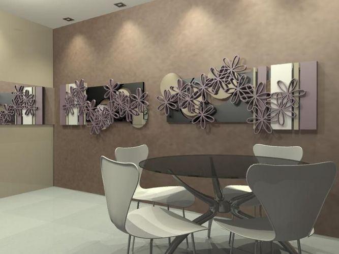 Sala De Jantar Mesa Redonda Branca ~ Mesa redonda de vidro e cadeira Branca de Luciana Bonomo  49727 no
