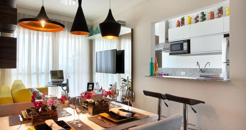 Sala De Jantar Com Preto ~ Sala de jantar com pendente preto de Adriana Fontana  66425 no Viva