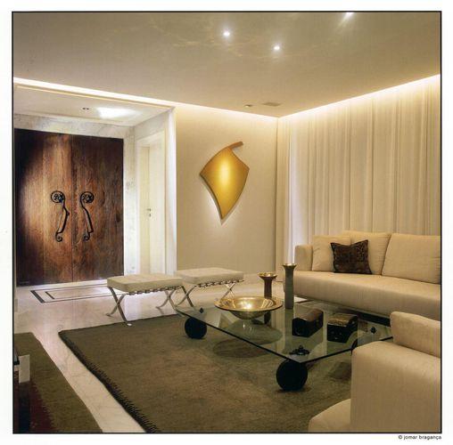 Sala De Estar Com Amarelo ~ Quadro amarelo na sala de estar de Gislene Lopes  70332 no Viva