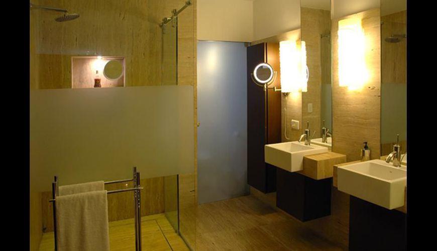 Banheiro com cuba branca de Ricardo Rossi  74467 no Viva Decora -> Cuba Banheiro Branca
