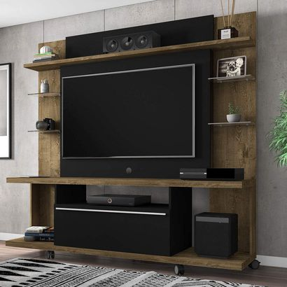 Porta Tv Torino.Estante Home Para Tv Ate 50 Polegadas 1 Porta New Torino Moveis Bechara