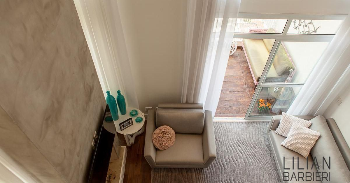 Sala de estar de lilian barbieri 77303 no viva decora for Sala de estar barbie