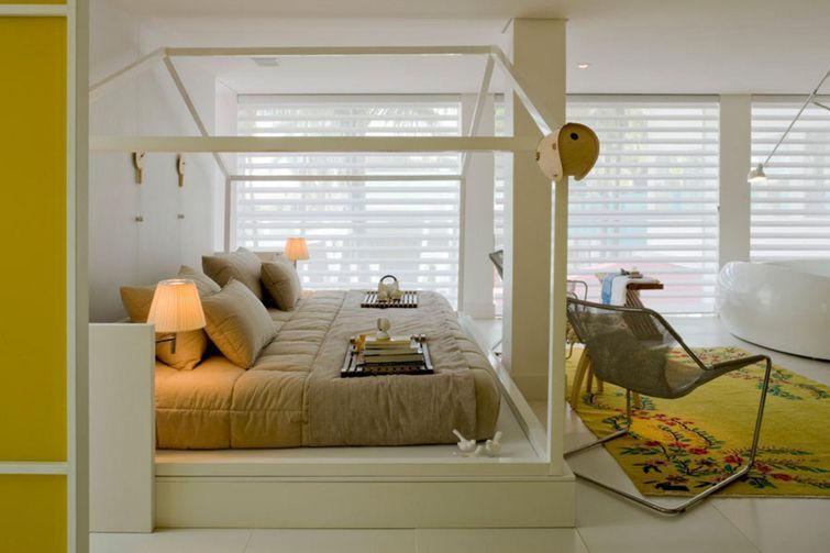 Quarto pequeno móveis planejados