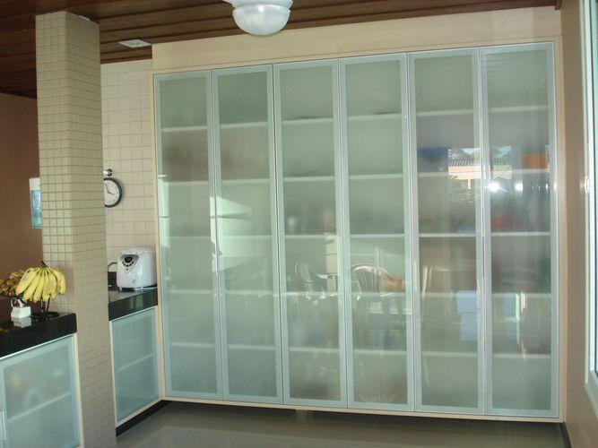 Wibampcom  Cozinha Planejada Armario De Vidro ~ Idéias do Projeto da Cozinh # Armario De Cozinha Planejado Porta De Vidro