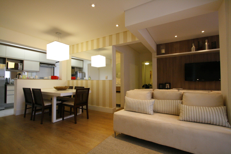 cozinha americana pequena de PriolliGaluppo Arquitetura e Design  #66471E 3000 2000